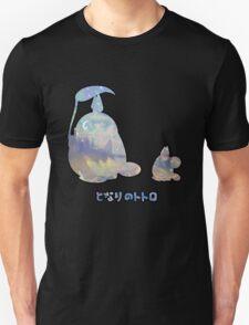 My Winter Neighbour Totoro Buddy Black T-Shirt