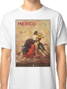 Vintage ad - Mexico matador Classic T-Shirt