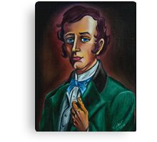 Mr. William Gracey from Gracey Mannor. Drawn by Topher Adam Canvas Print