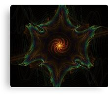 Space Fractal Canvas Print
