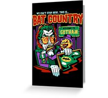 Bat Country Greeting Card