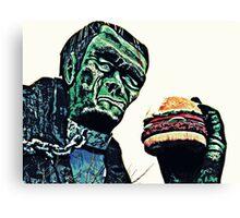 Dr Frankensteins Monster Canvas Print