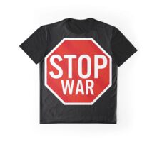 Stop War Graphic T-Shirt