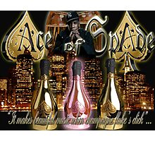 ACE OF SPADE Photographic Print