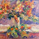 Roses Impression by Bob Abrahams