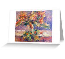 Roses Impression Greeting Card