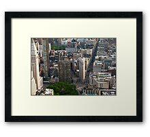 Flatiron District - NYC Framed Print