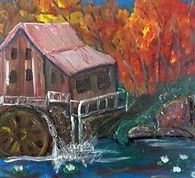 Autumn Mill by Alison Pearce