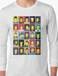 Hall of Hanks Long Sleeve T-Shirt