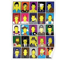 Hall of Hanks Poster