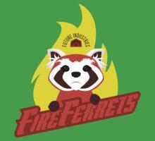 Future Industries Fire Ferrets One Piece - Short Sleeve