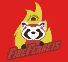 Future Industries Fire Ferrets Baby Tee