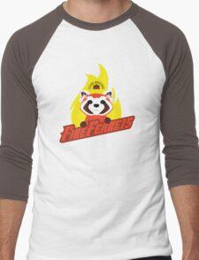 Future Industries Fire Ferrets Men's Baseball ¾ T-Shirt