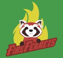 Fire Ferrets One Piece - Short Sleeve