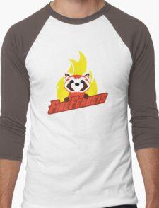 Fire Ferrets Men's Baseball ¾ T-Shirt