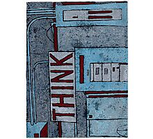 Think:red Photographic Print