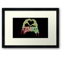 I love Flatbush Zombies Framed Print