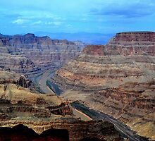 Grand Canyon West Rim, Arizona, USA. by Anthony Keevers
