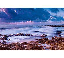 Sunset at Trannies Beach Photographic Print