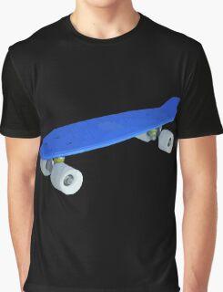 Blue skateboard Graphic T-Shirt