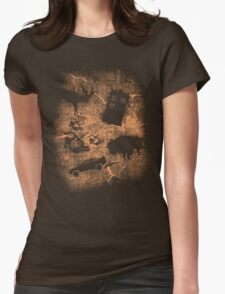 CAVE OF TIME Womens Fitted T-Shirt