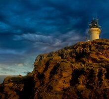 lighthouse by ketut suwitra