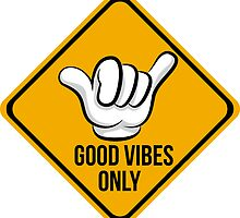 Good Vibes - Cool surf Fingers by 2monthsoff