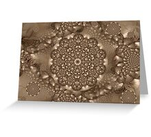 Brown Paper Texture 07 Greeting Card