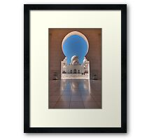 Dome Reflections Framed Print