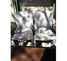 Belltown chairs Photographic Print