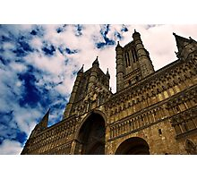 St Mary's Cathedral, Lincoln, UK Photographic Print
