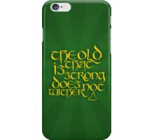 The Old That Is Cold Cover iPhone Case/Skin