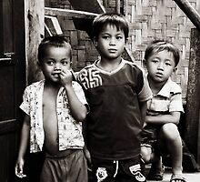 Three Boys © by Ethna Gillespie