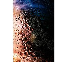 Bubblescapes - Oil in Water IV Photographic Print