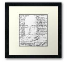 Shakespeare via Hamlet Framed Print