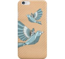 Geometric flight iPhone Case/Skin