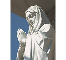 Our Lady of The Immaculate Conception Photographic Print