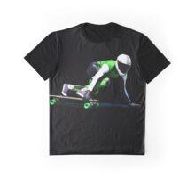 Skate drifting! Downhill. Graphic T-Shirt