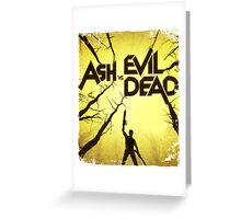 Ash vs Evil Dead Greeting Card