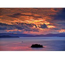 Sunset over the Coral Sea Photographic Print