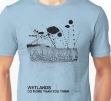 Wetlands (originally created for Bladensburg State Park, 2015) Unisex T-Shirt