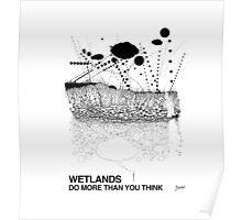 Wetlands (originally created for Bladensburg State Park, 2015) Poster