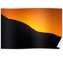 Ridgeline Sunset Poster