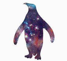 galaxy penguin Men's Baseball ¾ T-Shirt