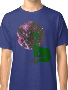 Stargazing Dinosaur Classic T-Shirt