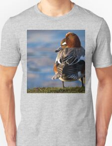 Wigeon enjoying the sunshine Unisex T-Shirt