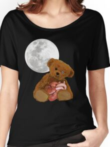 bear with a heart Women's Relaxed Fit T-Shirt