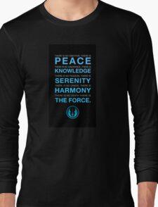 Jedi Code Long Sleeve T-Shirt