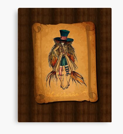Who is the Mad Hatter ? Canvas Print
