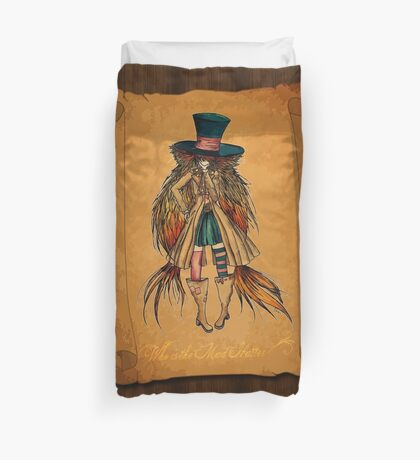 Who is the Mad Hatter ? Duvet Cover